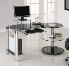 Minimalist Office Desk Minimalist Modern Office Desk With Four Drawer On The Side