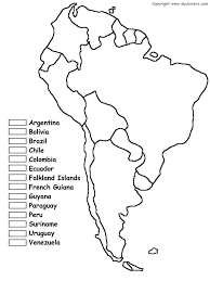 outline of south america map map south america pencil and in color map south america