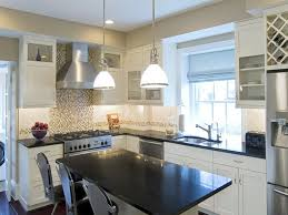 Granite Island Kitchen Granite Countertop Cabinets Manufacturers Small Stainless Steel