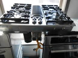Kitchen Appliance Stores - ge profile 30 inch down draft gas cook top 4 burner heavy duty