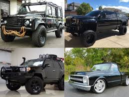 tire rack black friday 10 black rigs to buy this black friday the drive