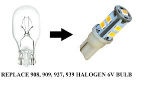 emergency exit lights led wedge base replaces 908 909 927 939