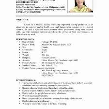 resume exles for nursing resume sle for a best of resume sle gotraffic co