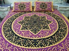 applique work bed sheet best designs of applique items available