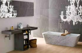 bathroom modern gray wall stone bathroom interior with white