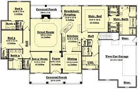 4 bedroom house plan 4 bedroom house designs captivating decor d ranch house plans