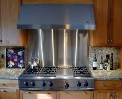 stainless steel backsplashes for kitchens stainless steel backsplash florist home and design