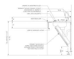 cabinet depth of kitchen sink standard depth of kitchen sink