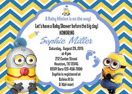 minions baby shower baby shower invitations fascinating minion baby shower invitations