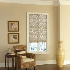 decorating wooden bali cellular shades with bench for home