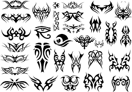 clipart tribal tattoos black