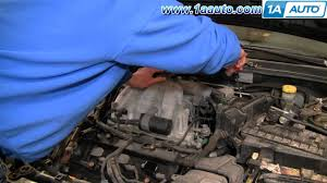 how to replace install change spark plugs 2000 03 nissan maxima