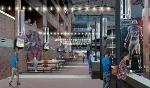 detroit lions unveil design concepts for ford field renovation