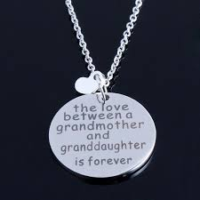 grandmother granddaughter necklace of a necklace