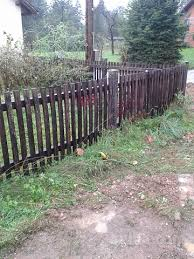 vrtna ograja lesena hrast bolha