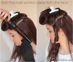 curling irons that won t damage hair how to use a curling wand or clipless curling iron