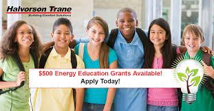 Trane Comfort Solutions 500 Energy Education Grant Application Halvorson Trane
