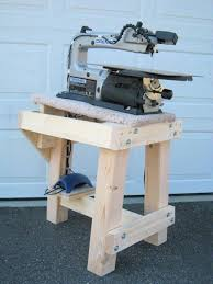 Scroll Saw Bench Plans