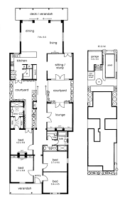 Row Houses Floor Plans Love The Courtyards And Floor To Ceiling Glass Window Corridor