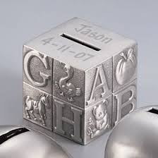personalized silver piggy bank 52 best personalized baby kids gifts images on kids
