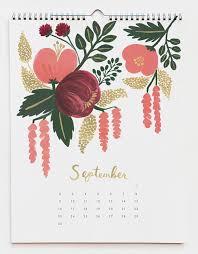 botanical calendars new rifle paper co calendars notepads design sponge