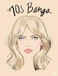 1970s hair shoulder length bang gangs how the coolest girls wear bangs bangs met and rock