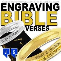 wedding quotes engraving engraving bible verses in rings jewelry secrets