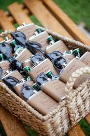 sunglasses wedding favors angela adrian