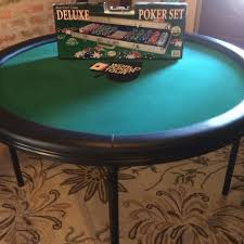 folding poker tables for sale find more seldom used 4 foot diameter world poker tour felt poker
