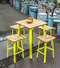 industrial bar table and stools industrial bar table from mamagreen outdoor dining furniture melbourne