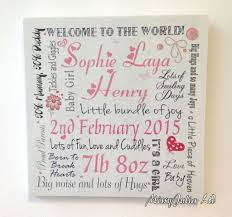 baby plaques personalised new baby newborn wooden plaque sign keepsake
