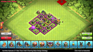 coc map layout th6 best town hall level 6 th6 farming base design layout strategy