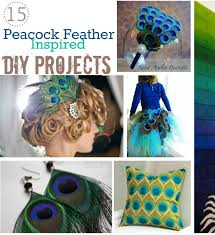 peacock feather inspired diy projects tutorials jpg