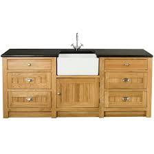 Oak  Door Drawer Sink Cabinet Xxmm - Kitchen sink cupboard
