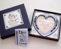 heart shaped horseshoes blacksmith forged entwined horseshoes personalised with both