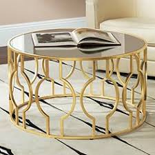 vintage gold side table fara antique gold leaf round coffee table metal tables pinterest