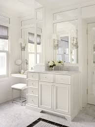 Bathroom Accent Tables Makeup Vanities In Bathroom Traditional With Bathroom Next To