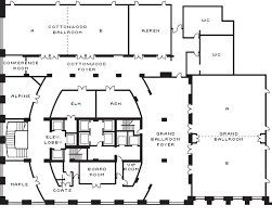 ballroom floor plan four seasons denver perfect for corporate events and wedding venues