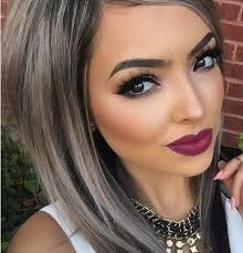 highlights to hide greyhair blonde highlights on brown hair to cover grey hair colour your