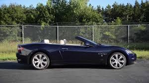 blue maserati granturismo convertible 2011 maserati granturismo convertible wr tv sights u0026 sounds