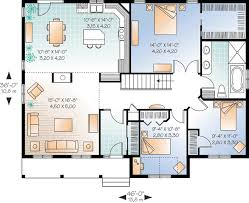 starter home floor plans starter home or empty nester 21929dr architectural designs