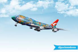 qantas 747 300 nalanji dreaming vh ebu 1 200 scale solid plastic