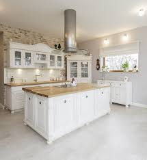 white kitchen island with butcher block top roselawnlutheran stylish tuscan white cabinet kitchen with large wood butcher block island