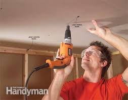 How To Hang Drywall On Ceiling By Yourself by Best 25 Drywall Ceiling Ideas On Pinterest Repair Ceilings Diy