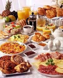 thanksgiving continental breakfast vignette continental