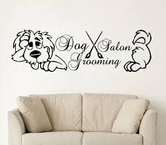 online buy wholesale dog grooming cartoons from china dog grooming 2017 new dog grooming salon wall decal vinyl pet shop grooming salon stickers decor china