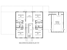 2 Story Open Floor Plans by Second Floor Modern 2 Story House With Rectangular House Floor Plan