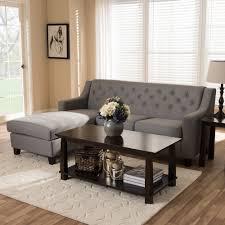 Modern Grey Sectional Sofa Furniture Modern Furniture Sectional Sofa Baxton Studio