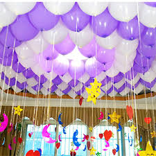 purple decorations aliexpress buy 5pcs lot 10 inch light purple balloons