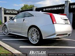 cadillac cts 22 inch rims cadillac cts coupe with 22in lexani cvx44 wheels cadillac cts